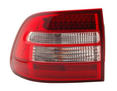Headlights & Tail Lights - Led Tail Lights - Anzo - Porsche Cayenne Anzo LED Taillights - Red & Clear - 321170