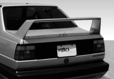 Spoilers - Custom Wing - VIS Racing - Volkswagen Jetta VIS Racing High Wing without Light - 11 Inch - 591008