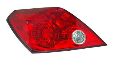 Headlights & Tail Lights - LED Tail Lights - Anzo - Nissan Altima Anzo LED Taillights - Red & Clear - 321188