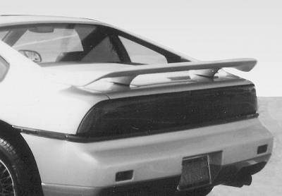 Spoilers - Custom Wing - VIS Racing - Pontiac Fiero VIS Racing Factory Style Wing without Light - 591066
