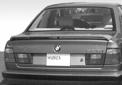 Spoilers - Custom Wing - VIS Racing - BMW 5 Series VIS Racing Low Profile 3 Leg Wing without Light - 591099