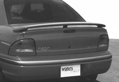 Spoilers - Custom Wing - VIS Racing - Dodge Neon VIS Racing California Style 3 Leg Wing without Light - 591102