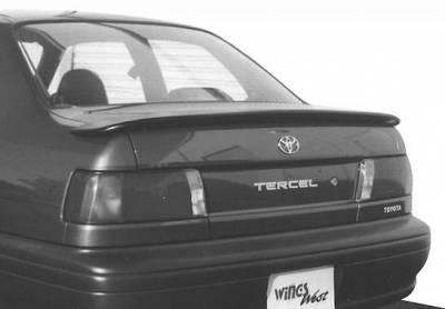 Spoilers - Custom Wing - VIS Racing - Toyota Tercel VIS Racing Flushmount Spoiler - 591103
