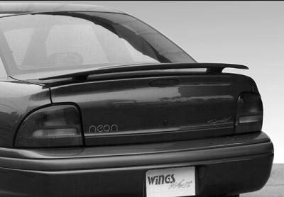 Spoilers - Custom Wing - VIS Racing - Dodge Neon VIS Racing Factory Style Wing without Light - 591122