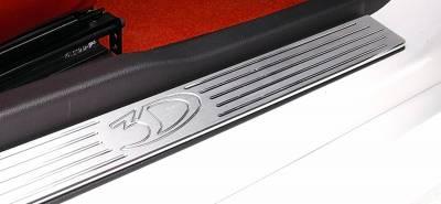 Mustang - Door Sills - 3dCarbon - Ford Mustang 3dCarbon Billet Aluminum Door Sills - Pair - 331043