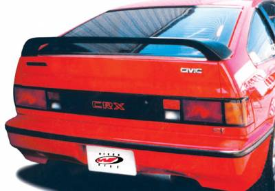 Spoilers - Custom Wing - VIS Racing - Honda CRX VIS Racing M3 Wing without Light without Wiper - 591131
