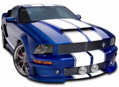 Cervinis - Ford Mustang Cervinis Ram Air Hood - 72001