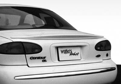 Spoilers - Custom Wing - VIS Racing - Ford Contour VIS Racing Factory Style Wing without Light - 591150