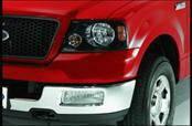 Headlights & Tail Lights - Headlight Covers - AVS - Ford F250 Superduty AVS Projektorz Headlight Accent Covers - 2PC - 337205