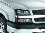 Headlights & Tail Lights - Headlight Covers - AVS - Chevrolet Silverado AVS Projektorz Headlight Accent Covers - 2PC - 337436