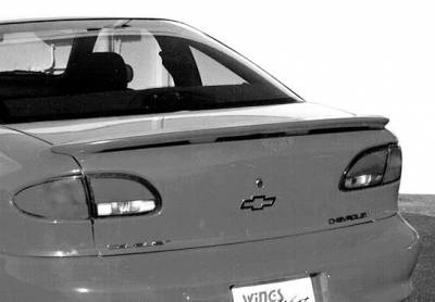 Spoilers - Custom Wing - VIS Racing - Chevrolet Cavalier VIS Racing Custom Lip Style Wing without Light - 591176