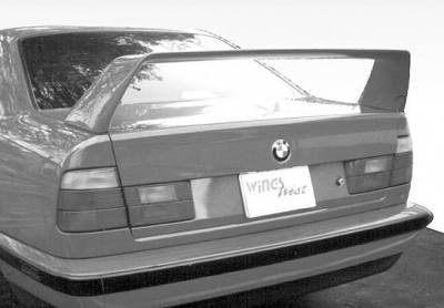 Spoilers - Custom Wing - VIS Racing - BMW 5 Series VIS Racing F40 Style Wing without Light - 591179