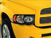 Headlights & Tail Lights - Headlight Covers - AVS - Toyota Tundra AVS Projektorz Headlight Accent Covers - 2PC - 337654