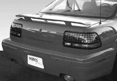 Spoilers - Custom Wing - VIS Racing - Pontiac Grand Prix VIS Racing Factory Style Wing without Light - 591219