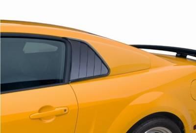 Cervinis - Ford Mustang Cervinis Quarter Window Covers - 72017