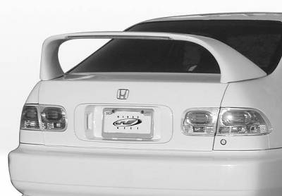 Spoilers - Custom Wing - VIS Racing - Honda Civic 4DR VIS Racing Super Style Wing without Light - 591240