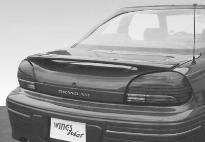 Spoilers - Custom Wing - VIS Racing - Pontiac Grand Am VIS Racing Factory Style Wing without Light - 591241