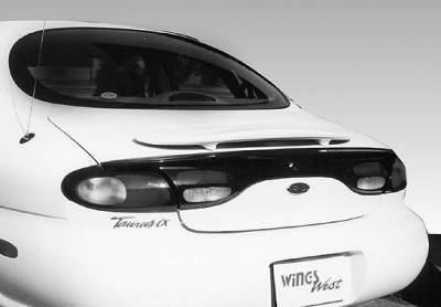 Spoilers - Custom Wing - VIS Racing - Ford Taurus VIS Racing Factory Style Wing without Light - 591258