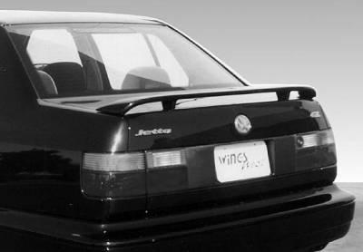 Spoilers - Custom Wing - VIS Racing - Volkswagen Jetta VIS Racing Factory Style Wing without Light - 591259