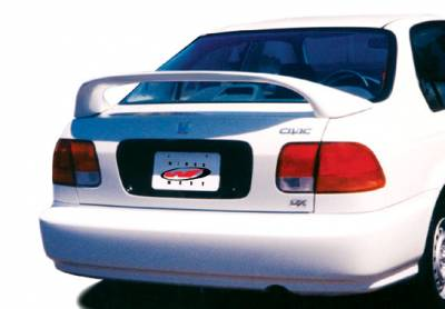 Spoilers - Custom Wing - VIS Racing - Honda Civic 4DR VIS Racing Mid-Wing without Light -7 inch - 591264