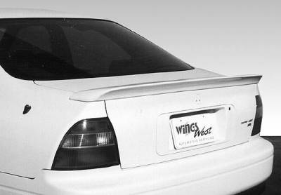 Spoilers - Custom Wing - VIS Racing - Honda Accord 2DR & 4DR VIS Racing Custom Flushmount Wing without Light - 591286