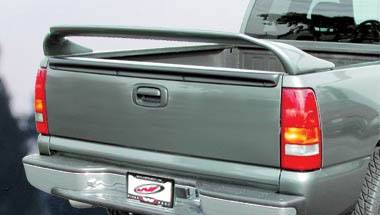 Spoilers - Custom Wing - VIS Racing - Chevrolet S10 VIS Racing Texas Tail Wing without Light - 591326