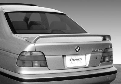 Spoilers - Custom Wing - VIS Racing - BMW 5 Series VIS Racing Factory Style 2 Leg Wing without Light - 591332