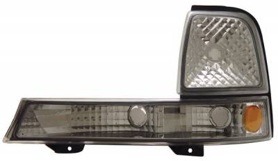 Headlights & Tail Lights - Corner Lights - Anzo - Ford Ranger Anzo Euro Parking Lights - with Amber Reflector - 511003