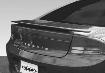 Spoilers - Custom Wing - VIS Racing - Dodge Intrepid VIS Racing Factory Style 2 Leg Wing without Light - 591366