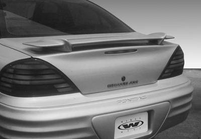 Spoilers - Custom Wing - VIS Racing - Pontiac Grand Am VIS Racing Factory Style Wing without Light - 591378