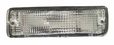 Headlights & Tail Lights - Corner Lights - Anzo - Toyota 4Runner Anzo Bumper Lights - Clear with Amber Reflectors - 511019