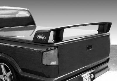 Spoilers - Custom Wing - VIS Racing - GMC Sonoma VIS Racing Touring Style for Tonneau Cover without Light - 591413