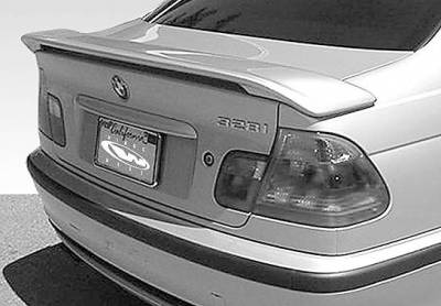 Spoilers - Custom Wing - VIS Racing - BMW 3 Series 4DR VIS Racing Factory Style 2 Leg Wing without Light - 591430