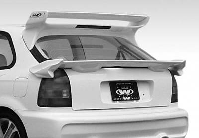 Spoilers - Custom Wing - VIS Racing - Honda Civic HB VIS Racing Type 2 Mid-Wing - 591481