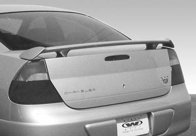Spoilers - Custom Wing - VIS Racing - Chrysler 300 VIS Racing Factory Style Wing without Light - 591503