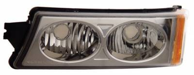Headlights & Tail Lights - Corner Lights - Anzo - Chevrolet Silverado Anzo Parking Lights - Crystal - 511035