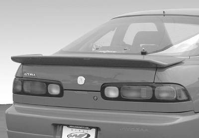 Spoilers - Custom Wing - VIS Racing - Acura Integra 2DR VIS Racing Flush Mount Whaletail Wing without Light - 591548