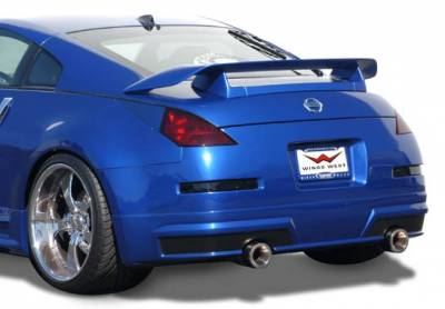 Spoilers - Custom Wing - VIS Racing - Nissan 350Z VIS Racing Z-Spec Rear Spoiler - 2PC - 591588
