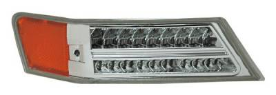 Headlights & Tail Lights - Corner Lights - Anzo - Jeep Patriot Anzo LED Parking Lights - All Chrome - Amber - 511062