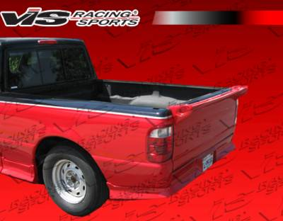 Spoilers - Custom Wing - VIS Racing - Ford Ranger VIS Racing Mini-Me Commando Spoiler - 591660