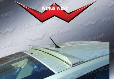 Spoilers - Custom Wing - VIS Racing - Toyota Prius VIS Racing W-Type Roof Spoiler - 591667