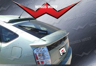 Spoilers - Custom Wing - VIS Racing - Toyota Prius VIS Racing W-Type Rear Deck Spoiler - 591668