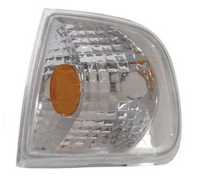Headlights & Tail Lights - Corner Lights - Anzo - Ford F150 Anzo Euro Corner Lights - with Amber Reflector - 521012