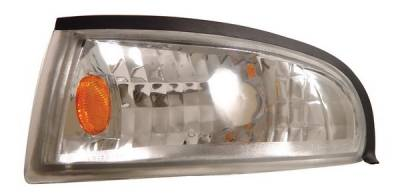 Headlights & Tail Lights - Corner Lights - Anzo - Ford Mustang Anzo Euro Corner Lights - with Amber Reflector - 521016