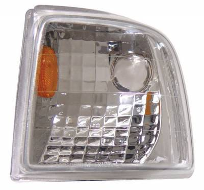 Headlights & Tail Lights - Corner Lights - Anzo - Ford Ranger Anzo Euro Corner Lights - with Amber Reflector - 521017