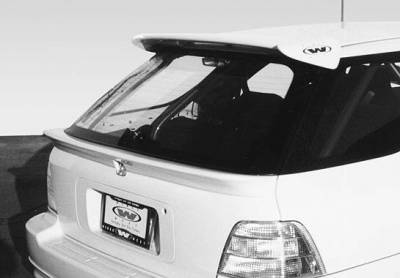 Spoilers - Custom Wing - VIS Racing - Honda Accord Wagon VIS Racing Rear Hatch Spoiler without Light- 1PC - 890308