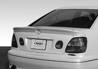 Spoilers - Custom Wing - VIS Racing - Lexus GS VIS Racing Custom Spoiler without Light- 3PC - 890365
