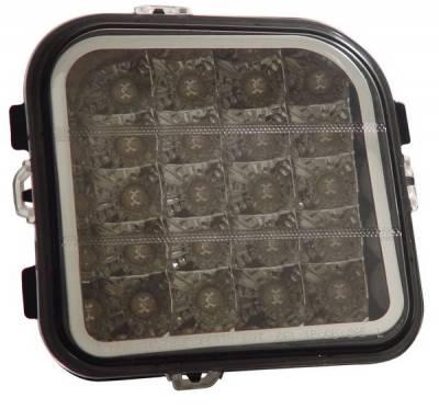 Headlights & Tail Lights - Corner Lights - Anzo - Hummer H3 Anzo Euro Corner Lights - Chrome - 521022