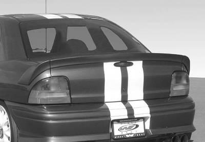 Spoilers - Custom Wing - VIS Racing - Dodge Neon VIS Racing Flushmount Spoiler without Light- 3PC - 890618
