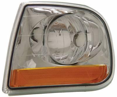 Headlights & Tail Lights - Corner Lights - Anzo - Ford F150 Anzo Euro Corner Lights - Lighting Style - 521026